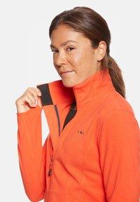 Jeff Green - ANNE - Fleece jacket - orange - 3