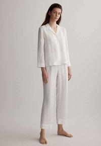 OYSHO - Pyjama top - white - 1