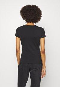 Anna Field - 2 PACK - Basic T-shirt - black/black - 3