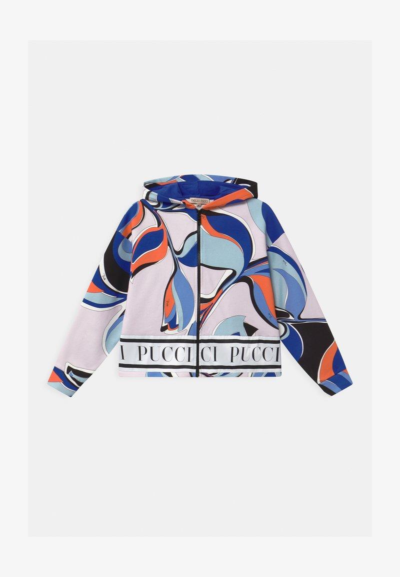 Emilio Pucci - Zip-up hoodie - black