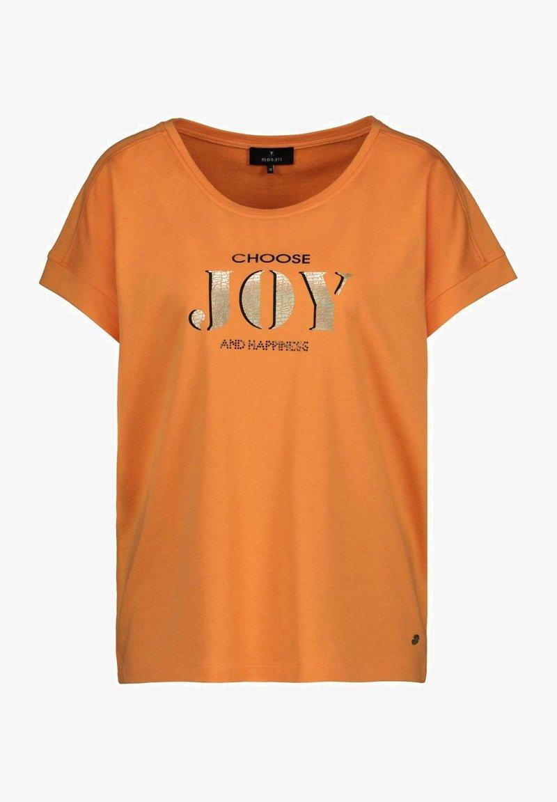 Monari - T-Shirt print - orange