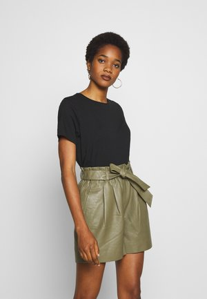 MATILDA - Basic T-shirt - black