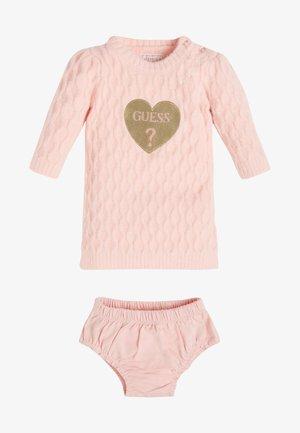 SET - Jumper dress - pink