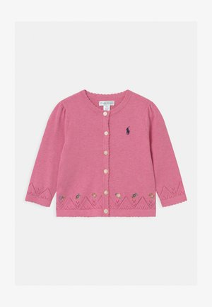 FINE - Cardigan - preppy pink heather