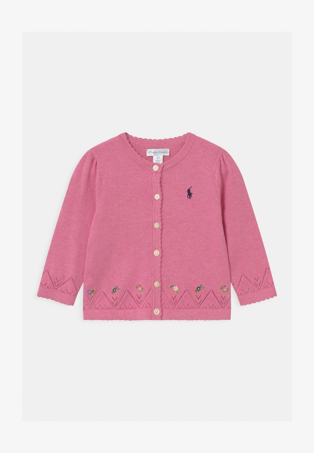 FINE - Vest - preppy pink heather