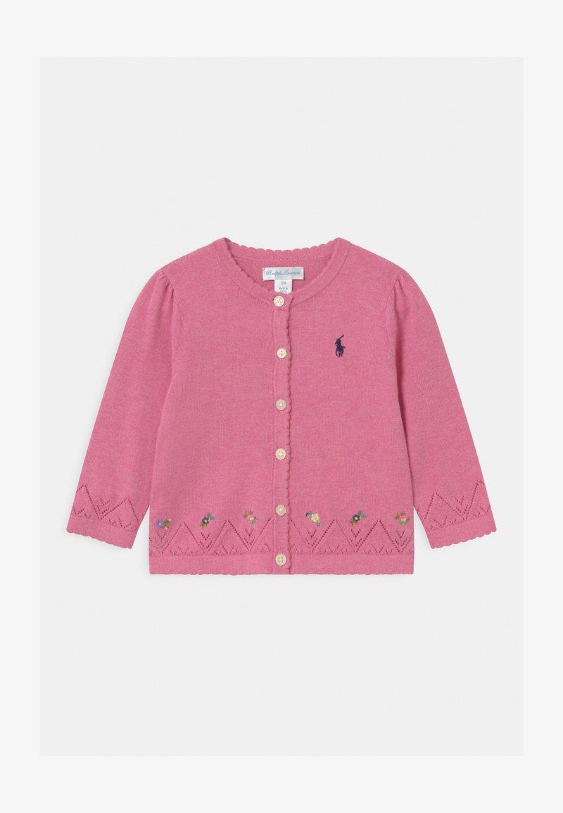 Polo Ralph Lauren - FINE - Cardigan - preppy pink heather