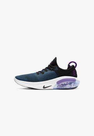 JOYRIDE RUN - Neutral running shoes - black/vivid purple/valerian blue