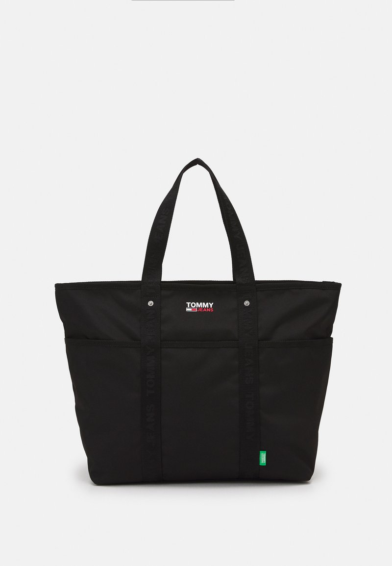 Tommy Jeans - CAMPUS TOTE - Tote bag - black