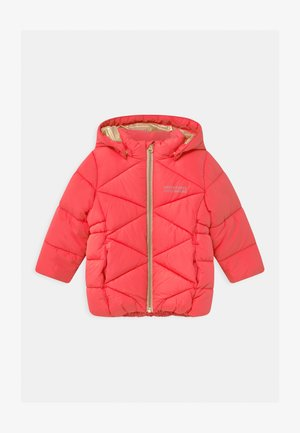 NMFMILTON PUFFER CAMP - Winter coat - neon pink