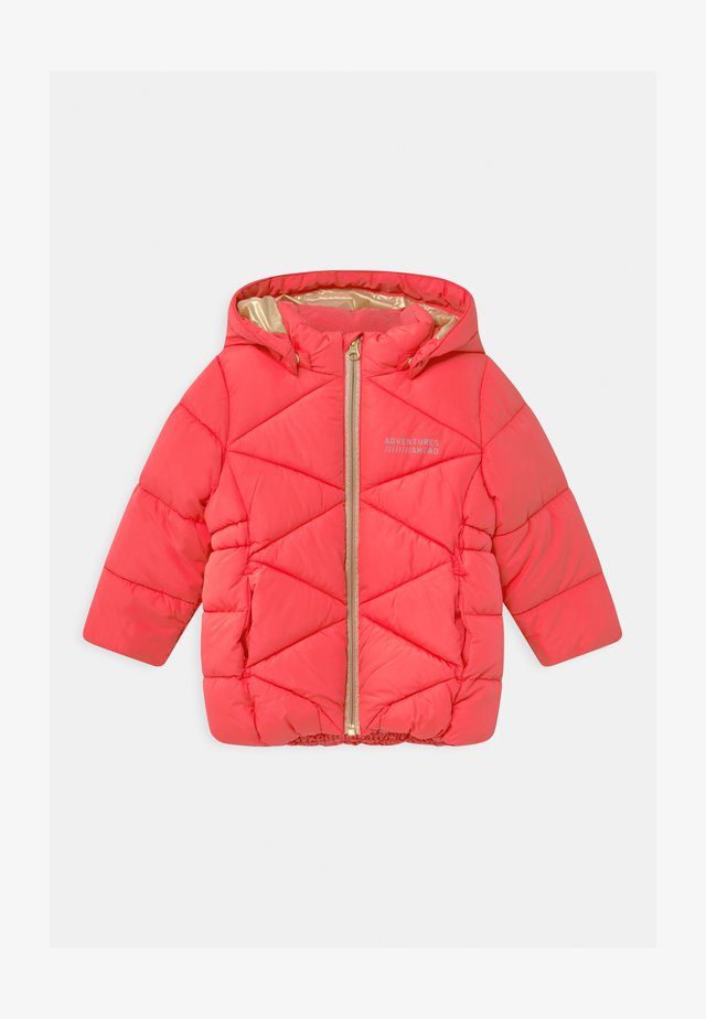 NMFMILTON PUFFER CAMP - Cappotto invernale - neon pink