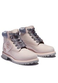 Timberland - PREMIUM - Lace-up ankle boots - chintz rose - 1