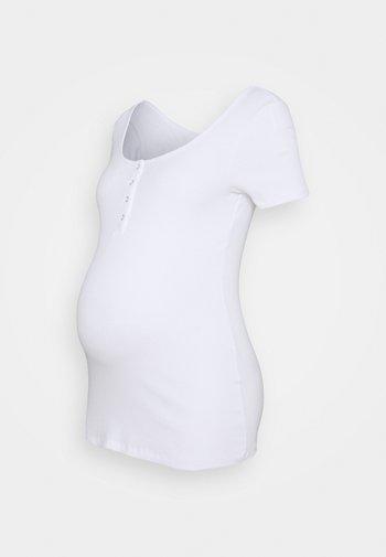 PCMKITTE  - T-shirts basic - bright white