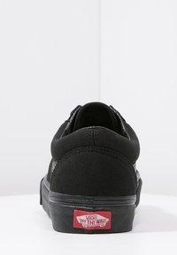 Vans - OLD SKOOL - Skateboardové boty - black - 7