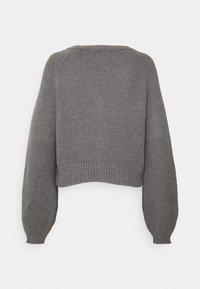 ONLY - ONLNEW ALISON LIFE - Cardigan - medium grey melange - 1
