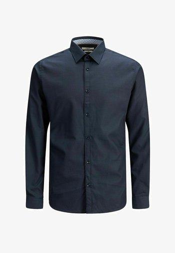 Kostymskjorta - navy blazer