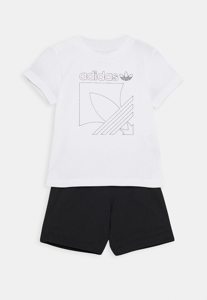 adidas Originals - BADGE - Tepláková souprava - white/black