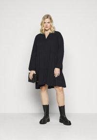 Kaffe Curve - KOBINE DRESS - Day dress - black deep - 1