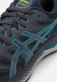 ASICS - GEL NIMBUS 23 - Neutral running shoes - carrier grey/digital aqua - 5