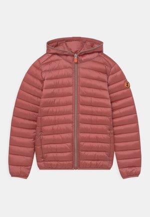 IRIS HOODED UNISEX - Winter jacket - clay pink