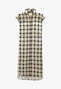 Massimo Dutti - Shirt dress - beige - 0
