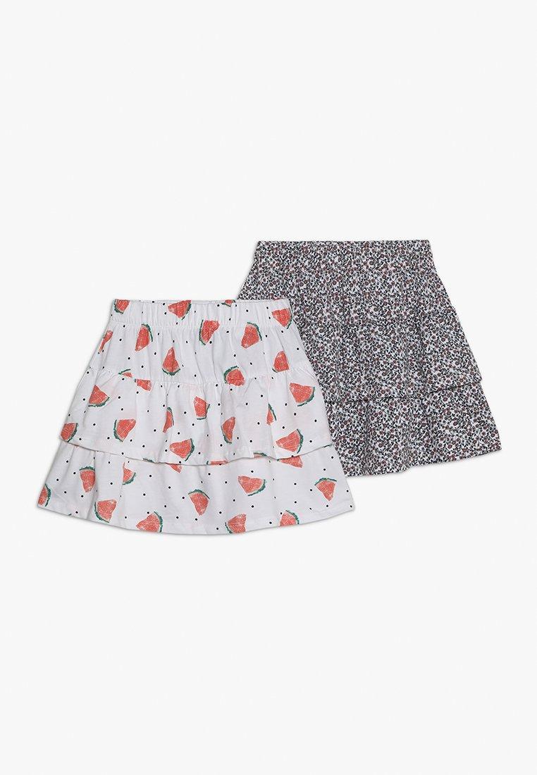 Name it - NKFVIGGA SKIRT 2 PACK - A-line skirt - bright white