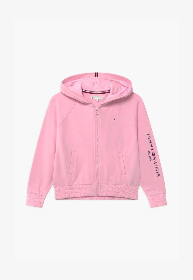 ESSENTIAL ZIP THROUGH - veste en sweat zippée - pink