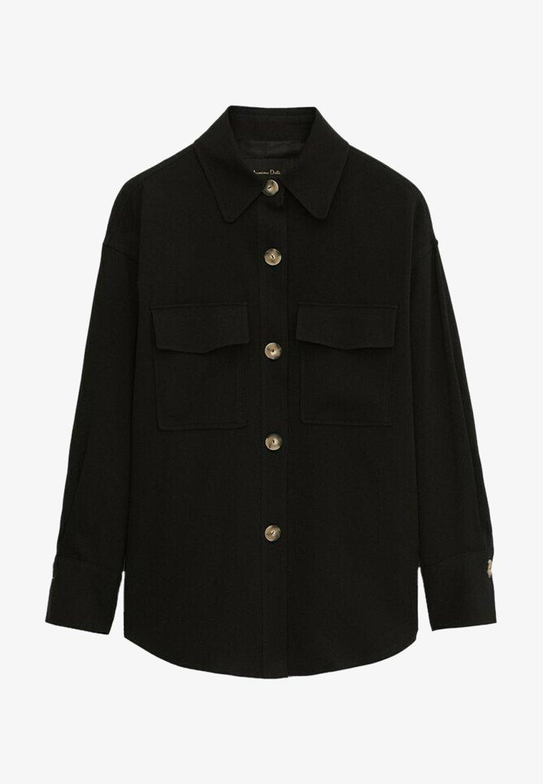 Massimo Dutti - Summer jacket - black