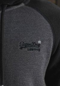 Superdry - ORANGE LABEL - Sweatjacke - low light black grit - 4