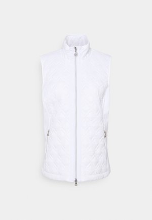 EVEN JACKET - Waistcoat - white