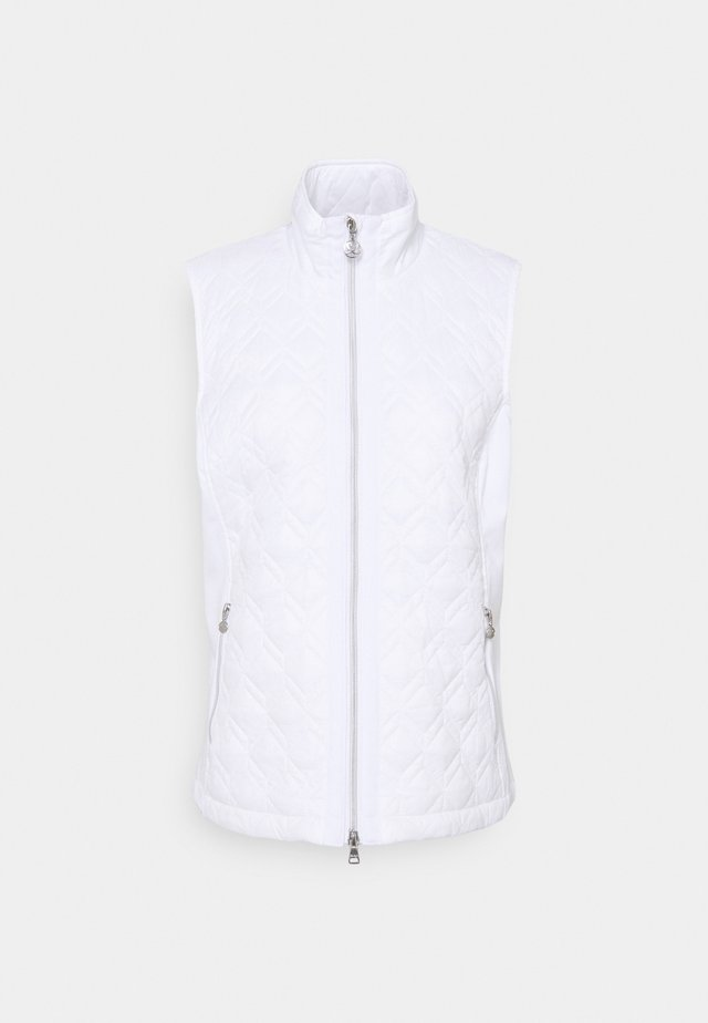 EVEN JACKET - Vest - white