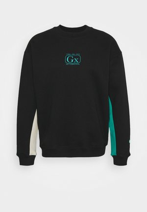 BLOCK CREWNECK - Mikina - black