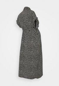 ONLY - OLMHANNOVER DRESS - Shirt dress - black/cloud dancer graphic - 1