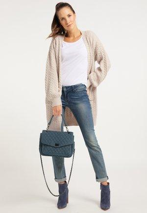 Handbag - raw denim