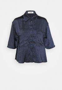 4th & Reckless - JORDANA - Button-down blouse - navy - 4