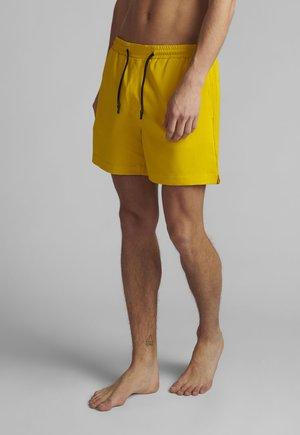 AKSHARK SOLID - Swimming shorts - sulphur