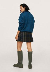 Mango - Pleated skirt - vert - 2