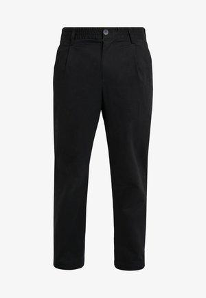 SMOKE - Pantalon classique - black
