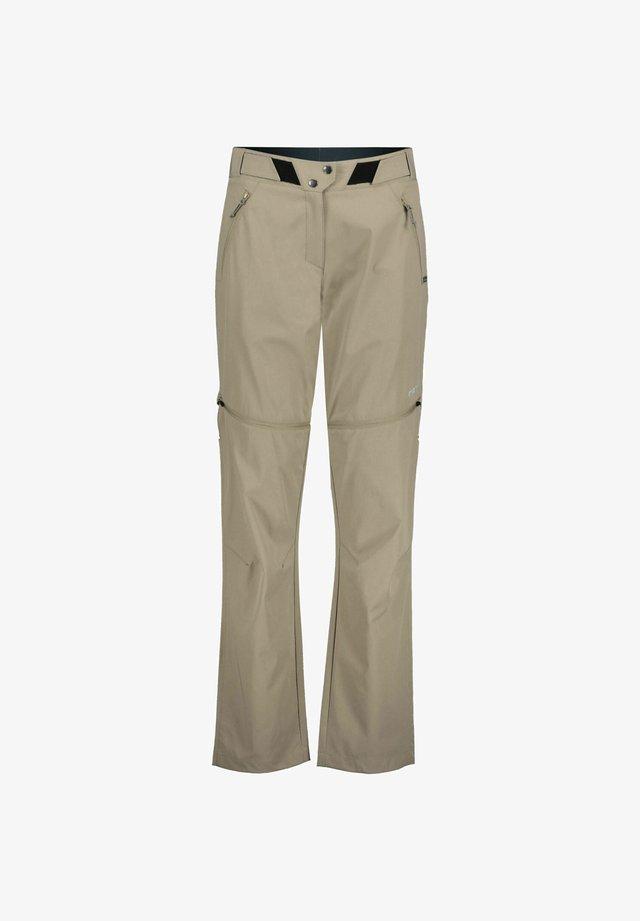 ROTOURA ZIPP OFF - Pantalon classique - beige