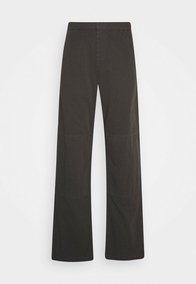 SLACK TROUSER - Kalhoty - charcoal