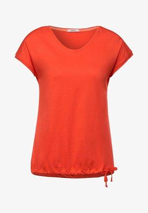 MIT SMOK - Basic T-shirt - orange