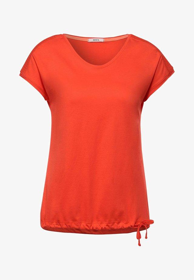 MIT SMOK - T-shirt - bas - orange