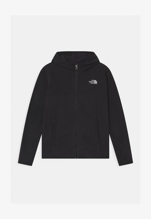 GLACIER FULL ZIP HOODIE UNISEX - Fleece jacket - black