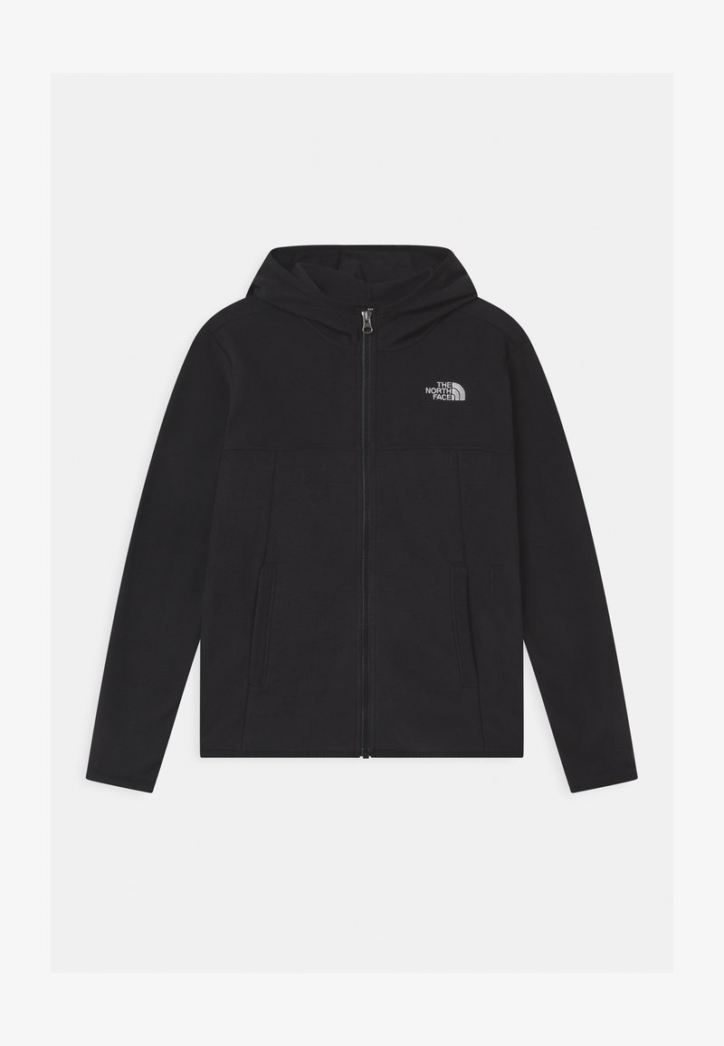 The North Face - GLACIER FULL ZIP HOODIE UNISEX - Fleece jacket - black