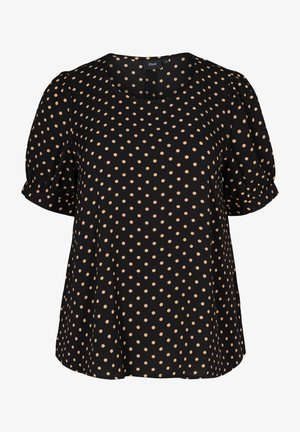 Blouse - black comb