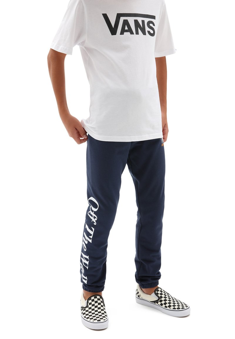 Vans - BY FREQUENCY  - Tracksuit bottoms - dress blues