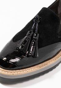 Anna Field Select - LEATHER SLIP-ONS - Scarpe senza lacci - black - 2