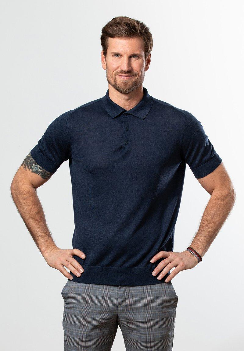 Francesco Fabbri - Polo shirt - dunkelblau