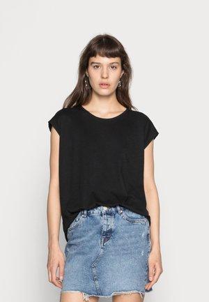 NMMATHILDE  - T-shirts - black