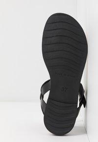 Grand Step Shoes - FLORA - T-bar sandals - black - 6