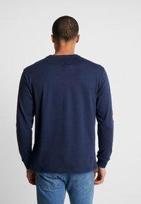 Tommy Jeans - Long sleeved top - black iris - 2